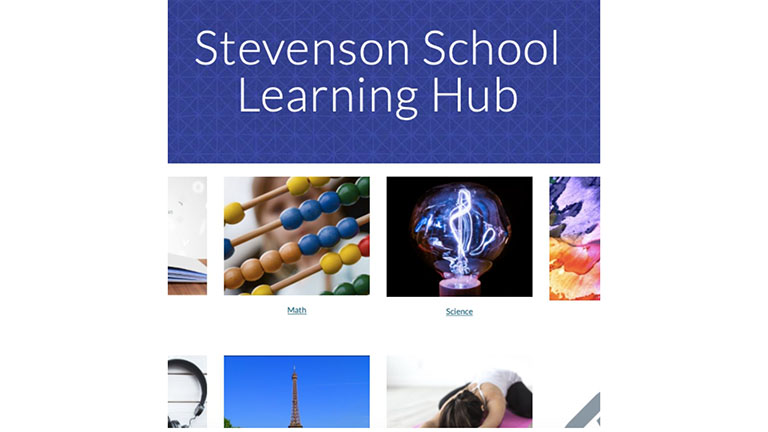 Stevenson School Learning Hub